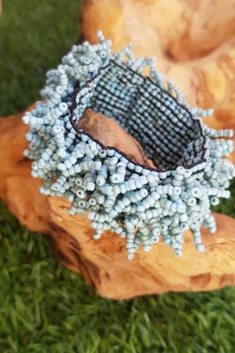 Pulsera Coralina Turquesa