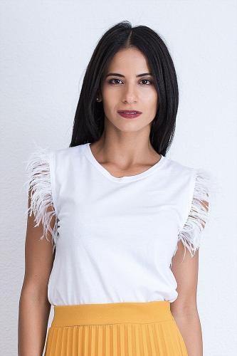 Camiseta Pavel blanca