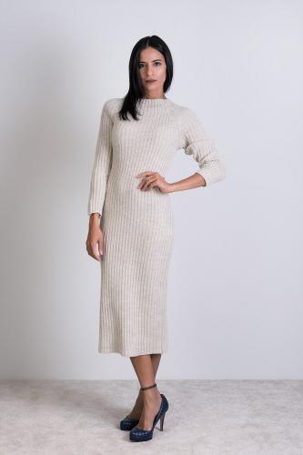 Vestido Moira Beige