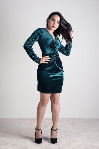 Vestido Estefany Verde