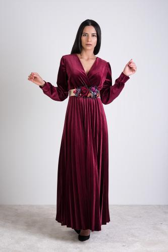 Vestido Lucía Burdeos
