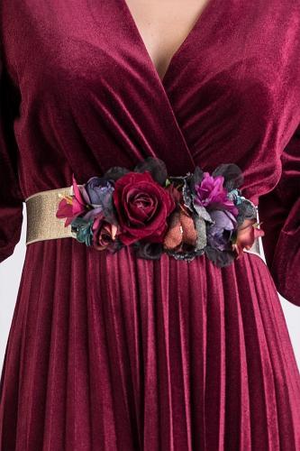 Cinturón de flores Carol