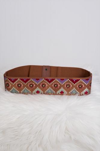 Cinturón hippie chic