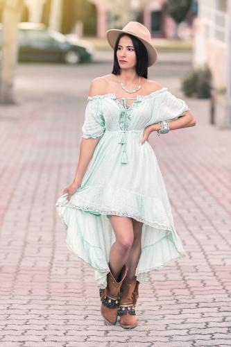 Vestido Boho Love