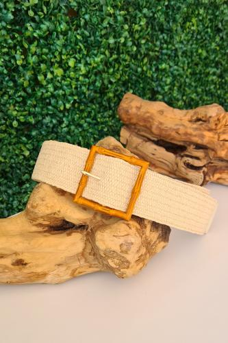 Cinturón Bambú