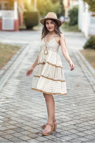 Vestido Boho Kaur corto