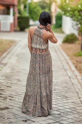 Vestido de seda Reva