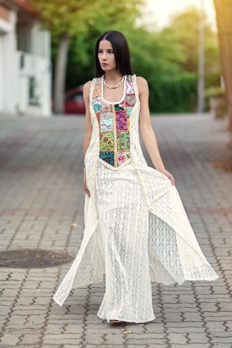 Vestido Corset Boho Bhargavi