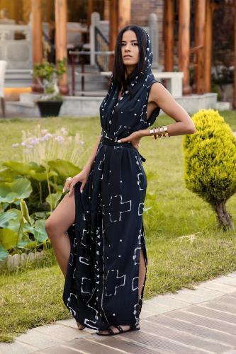 Chaleco vestido boho Hasini