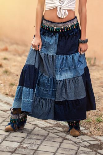 Falda boho Vaquera Amazonas