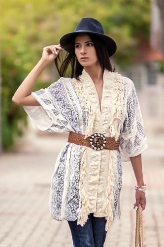 Kimono Etnico Cervino