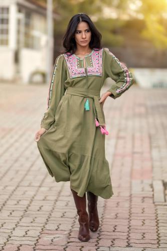 Vestido étnico Ganesha