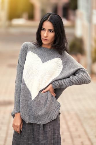 Jersey boho Corazón