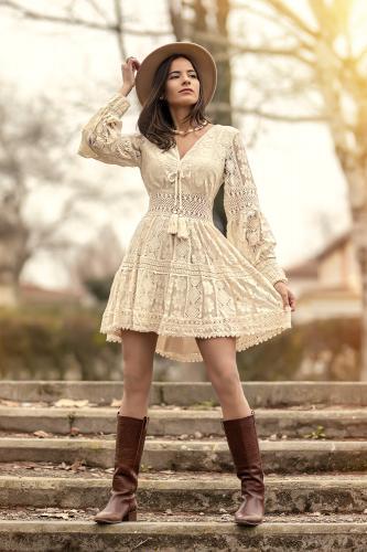 Vestido Boho Chic Kat