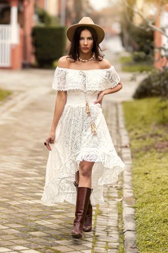 Vestido Boho Chic Zenna