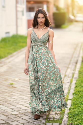 Vestido Boho Lamare