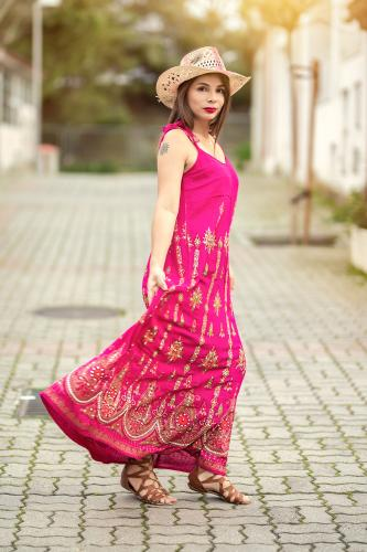 Vestido Boho Mohana