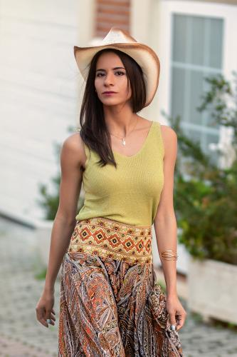 Top Boho Brilla