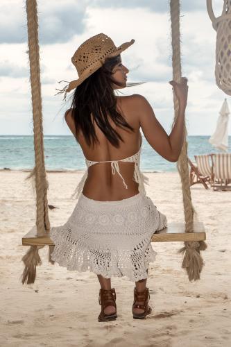 Minifalda Bohemia Caribe