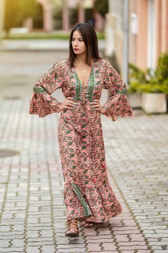 Vestido Boho Dhana
