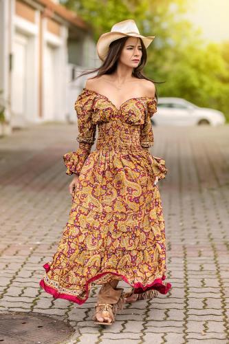 Vestido Boho Amore
