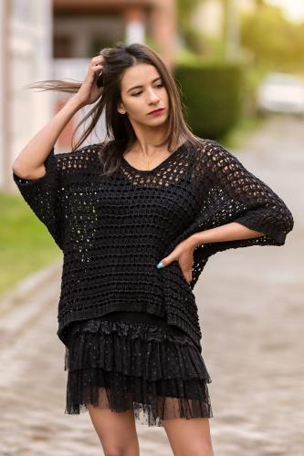 Jersey Boho Trasmallo Black