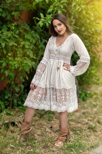 Vestido Blusón Boho Sweet