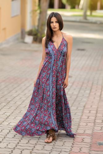 Vestido Boho Kiram