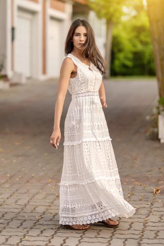 Vestido Boho Ibicenco Anami