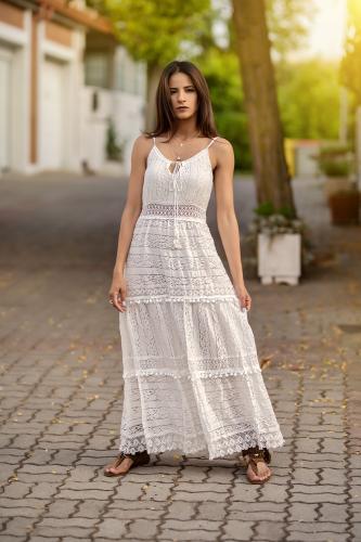 Vestido Boho Ibicenco Angara