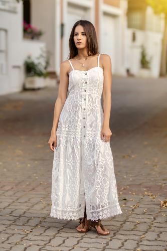 Vestido Boho Ibicenco Kunal