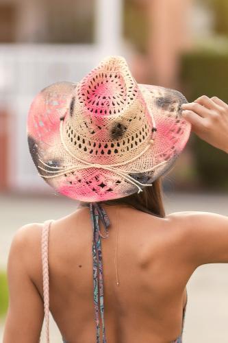 Sombrero Boho Rose