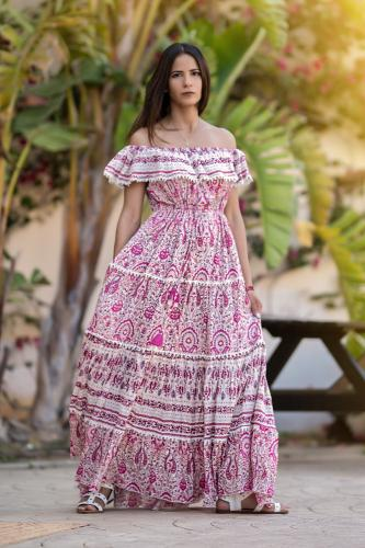 Vestido Boho Romántica