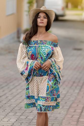 Vestido Blusón Boho Mahisa