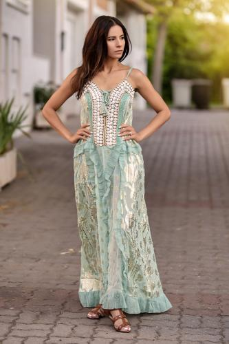 Vestido Boho Chic Caracolas