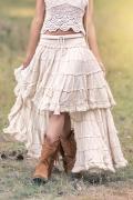 Faldas y  pantalones estilo bohemios o boho chic